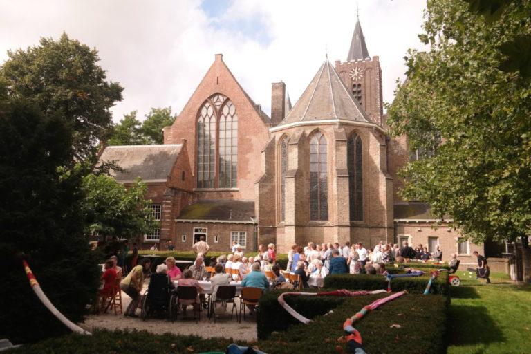 Maaltijd voor de kerk